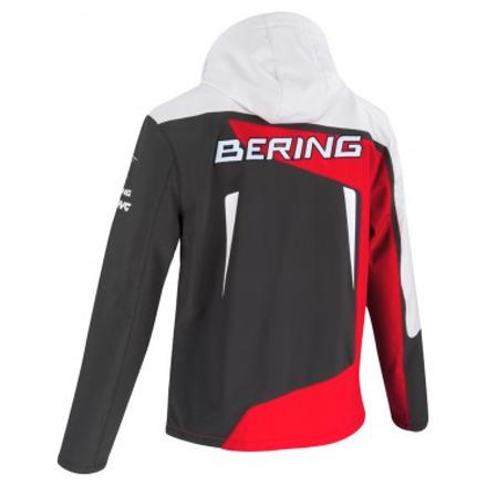 Bering Softshell Racing, Grijs-Rood (2 van 2)