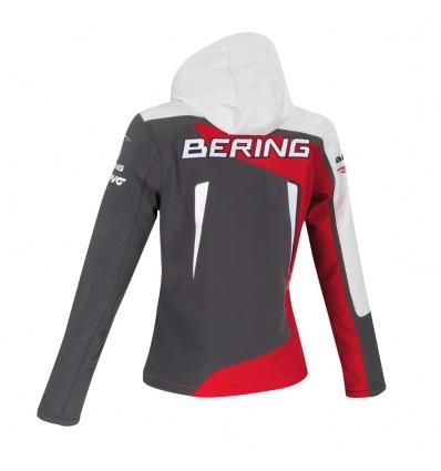 Bering Softshell Racing Lady, Grijs-Rood (2 van 2)