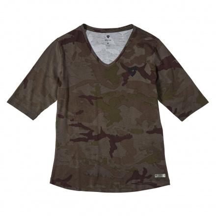 REV'IT! T-shirt Bailey Ladies, Donker Groen (1 van 2)