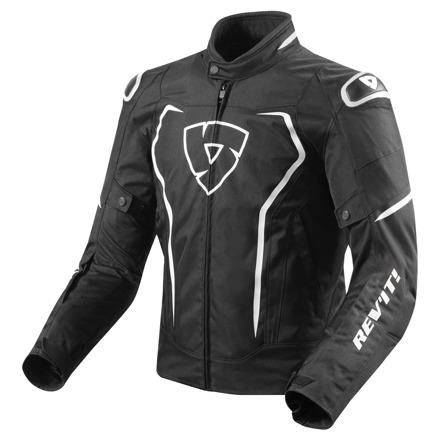REV'IT! Jacket Vertex TL, Zwart-Wit (1 van 2)