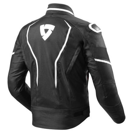 REV'IT! Jacket Vertex TL, Zwart-Wit (2 van 2)