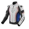 Vertex TL Motorjas - Wit-Blauw