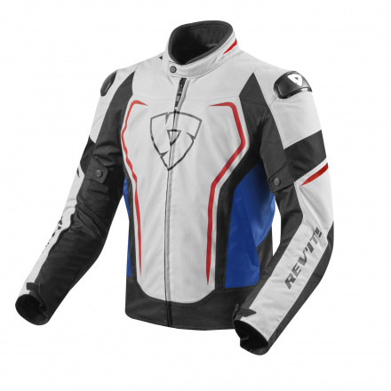 REV'IT! Vertex TL Motorjas, Wit-Blauw (1 van 2)