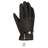 Lady Cox Crystal Handschoenen - Zwart