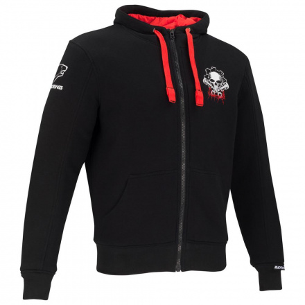 Hoodiz - Zwart-Rood