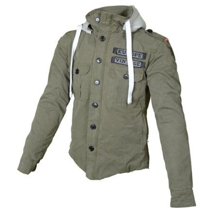 Hoodie Kevlar , Army - Groen