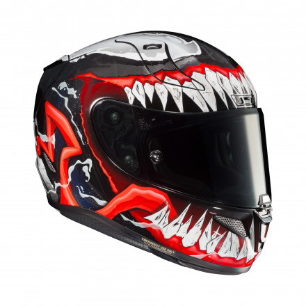 HJC RPHA 11 Venom 2, Zwart-Rood (2 van 5)