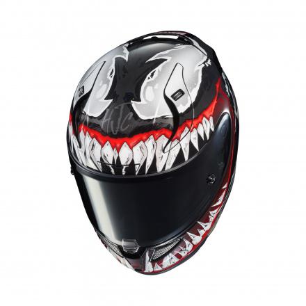 HJC RPHA 11 Venom 2, Zwart-Rood (4 van 5)