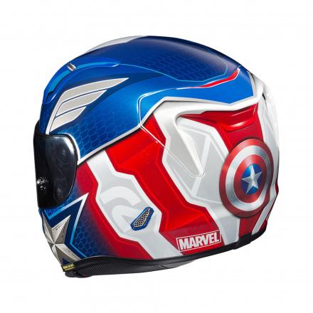 HJC RPHA 11 Captain America, Blauw-Wit-Rood (2 van 4)