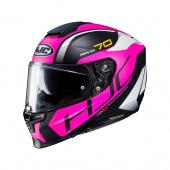 RPHA 70 Vias - Zwart-Roze-Wit