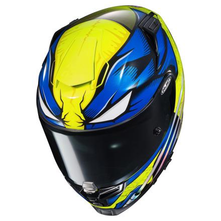 HJC RPHA 70 Wolverine Marvel, Blauw-Geel-Wit (3 van 4)