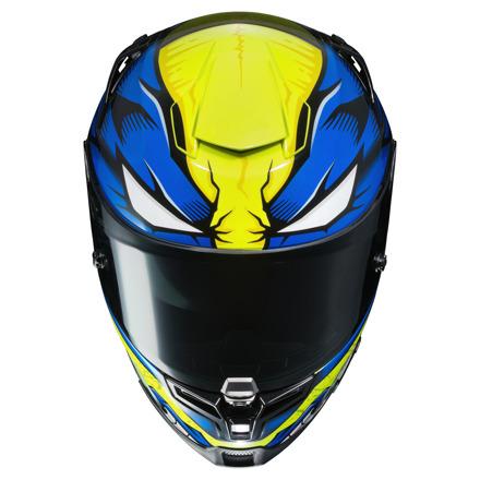 HJC RPHA 70 Wolverine Marvel, Blauw-Geel-Wit (4 van 4)