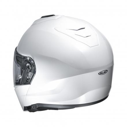 HJC I90 Solid, Wit (2 van 4)
