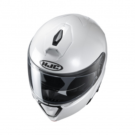HJC I90 Solid, Wit (3 van 4)