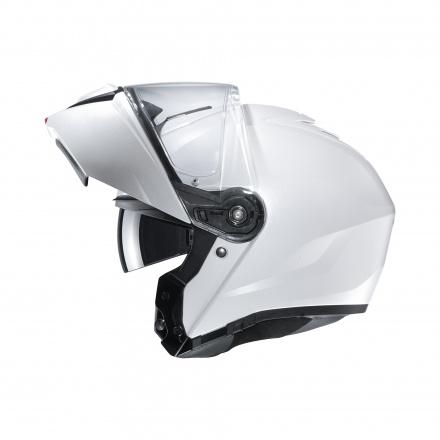 HJC I90 Solid, Wit (4 van 4)