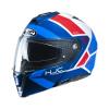 HJC I90 Hollen, Blauw-Wit-Rood (Afbeelding 1 van 3)