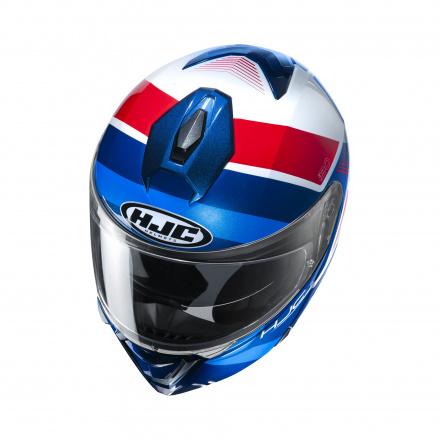 HJC I90 Hollen, Blauw-Wit-Rood (2 van 3)