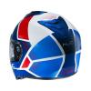 HJC I90 Hollen, Blauw-Wit-Rood (Afbeelding 3 van 3)