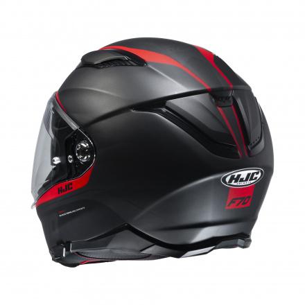 HJC F70 Feron, Zwart-Rood (2 van 3)
