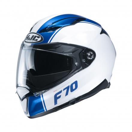 HJC F70 Mago, Wit-Blauw (1 van 1)
