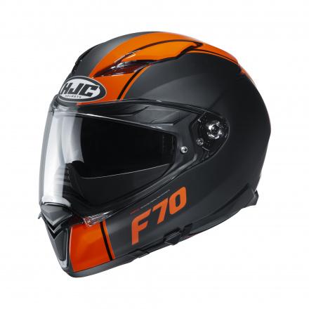 HJC F70 Mago, Zwart-Oranje (1 van 1)
