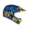 HJC CL-XY-II Batman DC Comics, Zwart-Blauw-Geel (Afbeelding 2 van 4)