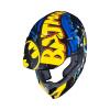 HJC CL-XY-II Batman DC Comics, Zwart-Blauw-Geel (Afbeelding 4 van 4)