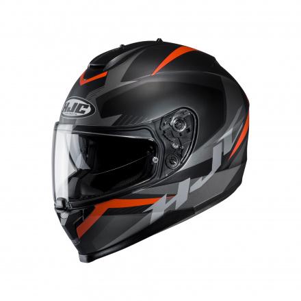 HJC C70 Troky, Zwart-Oranje (1 van 1)