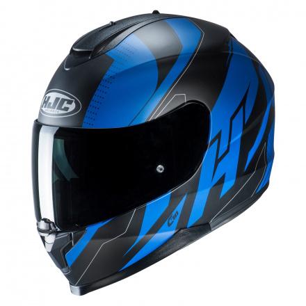 HJC C70 Boltas, Zwart-Blauw (1 van 2)