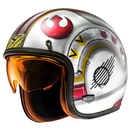 HJC FG-70s X-Wing Fighter Pilot, Oranje-Wit (1 van 4)