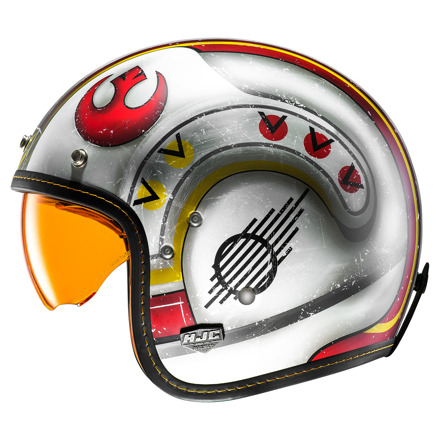 HJC FG-70s X-Wing Fighter Pilot, Oranje-Wit (3 van 4)