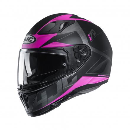 HJC I70 Eluma, Zwart-Roze (1 van 1)