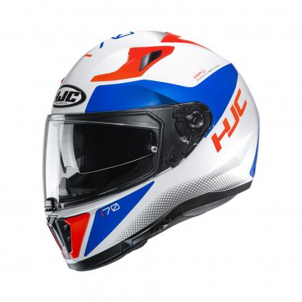 HJC I70 Tas, Wit-Blauw-Rood (1 van 3)