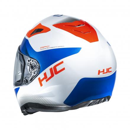 HJC I70 Tas, Wit-Blauw-Rood (2 van 3)