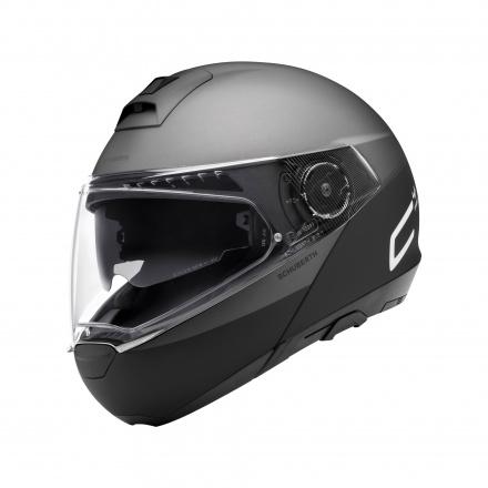 C4 Pro Swipe Helm - Grijs-Zwart
