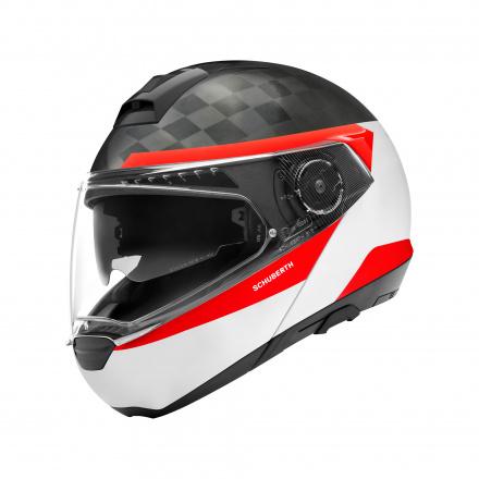 C4 Pro Carbon Delta - Wit-Zwart-Rood