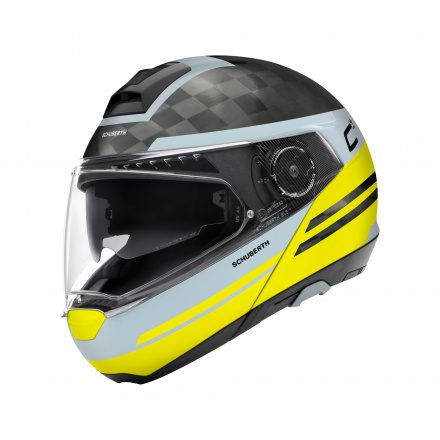 C4 Pro Carbon Tempest - Mat Zwart-Geel