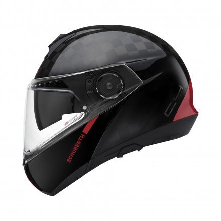 C4 Pro Carbon Fusion - Zwart-Rood