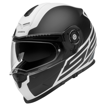 Schuberth S2 Sport Traction, Mat Wit-Zwart (1 van 2)
