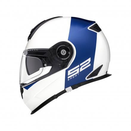 Schuberth S2 Sport Redux, Wit-Blauw (2 van 4)
