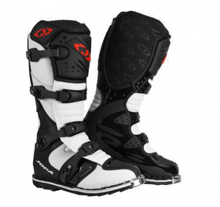 MX-Boots JS-12 - Zwart-Wit