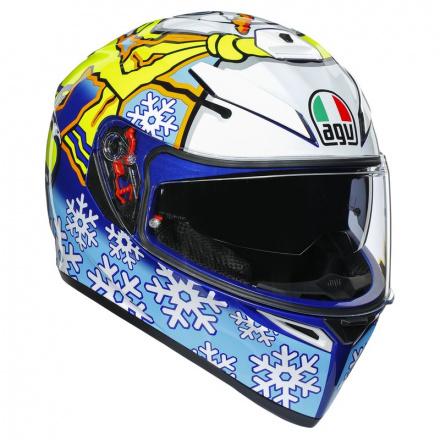 AGV K3 SV Rossi Wintertest 2016, Blauw-Geel-Wit (1 van 7)
