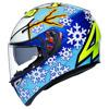 AGV K3 SV Rossi Wintertest 2016, Blauw-Geel-Wit (Afbeelding 3 van 7)
