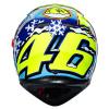 AGV K3 SV Rossi Wintertest 2016, Blauw-Geel-Wit (Afbeelding 4 van 7)
