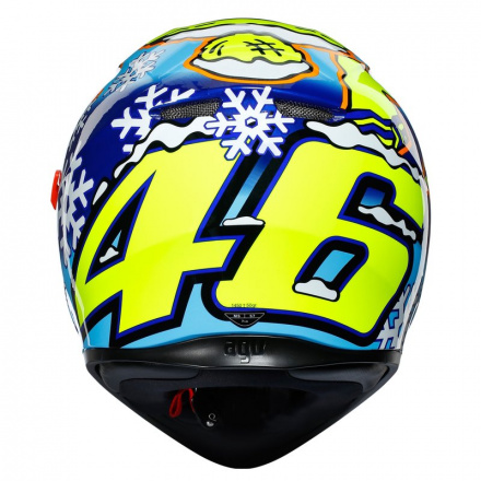 AGV K3 SV Rossi Wintertest 2016, Blauw-Geel-Wit (4 van 7)