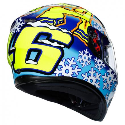 AGV K3 SV Rossi Wintertest 2016, Blauw-Geel-Wit (6 van 7)