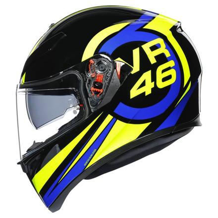 AGV K3 SV Ride 46, Zwart-Blauw-Geel (3 van 7)