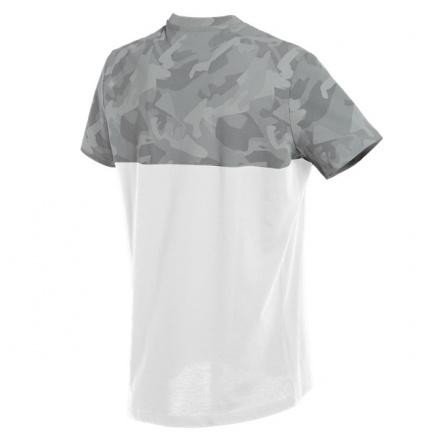 Dainese Camo-Tracks T-Shirt, Wit-Antraciet (2 van 2)