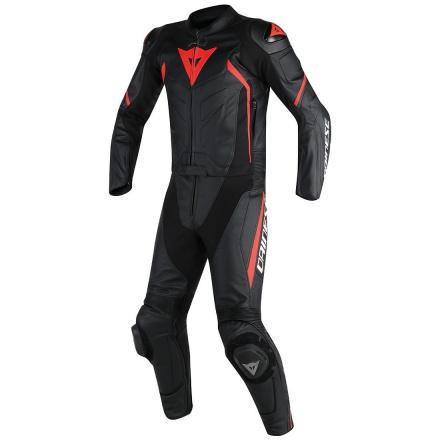 Avro D2 2 Pcs Suit - Zwart-Rood
