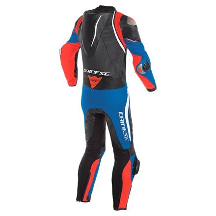 Dainese Laguna Seca 4 1pc Perf. Leather Suit, Zwart-Wit-Blauw (2 van 2)